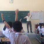 ProvideEnglishTrainertoHongHahighschool